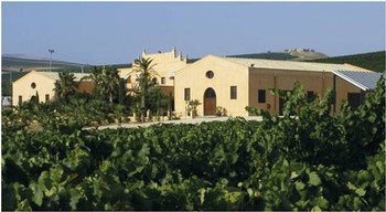 Donnafugata winery estate in Sicily, Italy